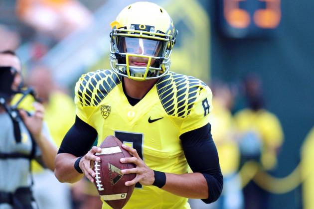 Could Oregon's Dominance Hurt Marcus Mariota's Heisman Chances?