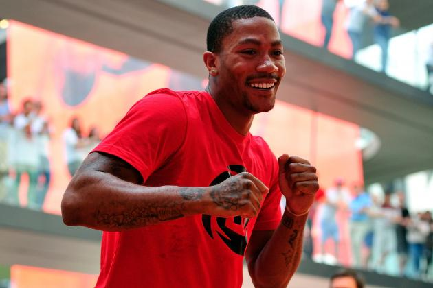 Derrick Rose: 'I Gained 10 Pounds of Muscle'