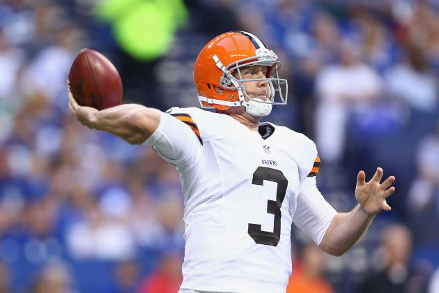 Report: Brandon Weeden Could Return as Early as Next Week