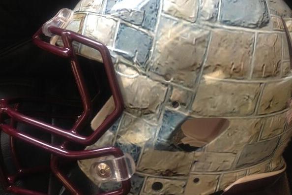 Virginia Tech Football Is Creating a 'Hokie Stone' Helmet