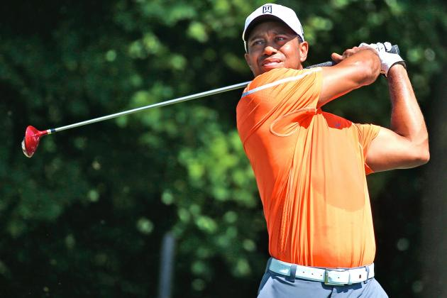 Tiger Woods at Tour Championship 2013 Tracker: Day 1 Highlights and Updates