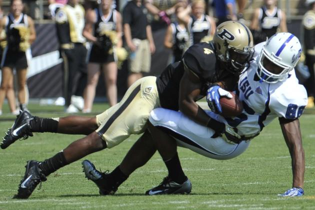 Purdue Football: Richards Feels Like It's His Time