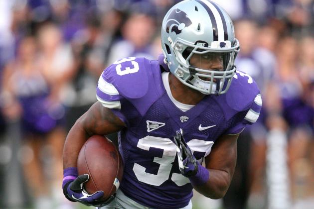 Hubert, Rose Leading K-State Ground Game vs. Texas