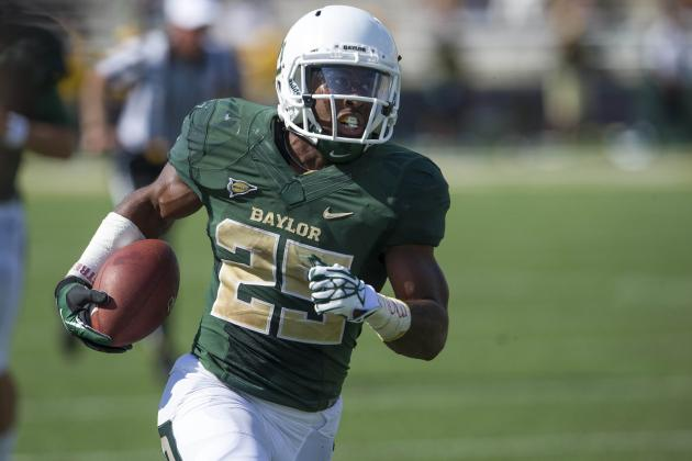 Baylor's Lache Seastrunk Discusses Leaving Oregon