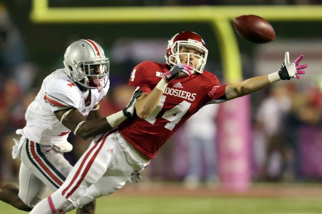 Indiana Football Receiver Nick Stoner Could Run Several Future Routes