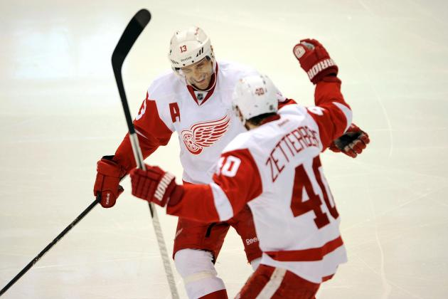 How Long Do Detroit Red Wings Have Before Zetterberg and Datsyuk Slow Down?