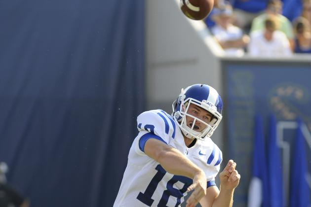 Duke''s Offense Tries to Do the Work for Quarterback Brandon Connette