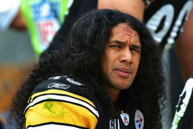 Steelers' Troy Polamalu Will Cut Very Famous Hair for Very Important Cause