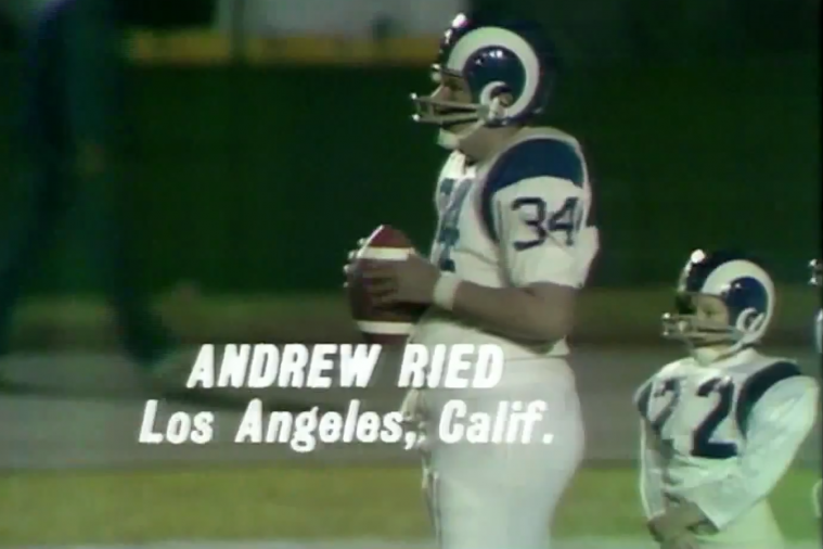 Throwback Thursday: A Young Andy Reid in a Punt, Pass, Kick Contest in 1971