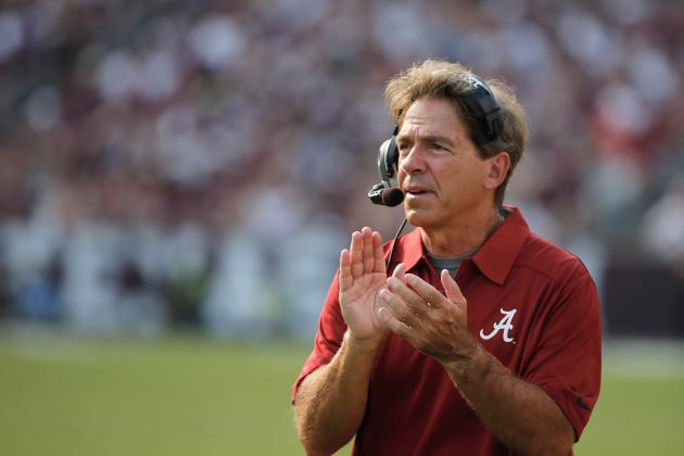 Texas Fans Can Only Dream of Stealing Nick Saban Away from Alabama