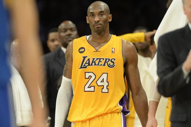 Kobe to Advance to Full-Weight Bearing Running Soon