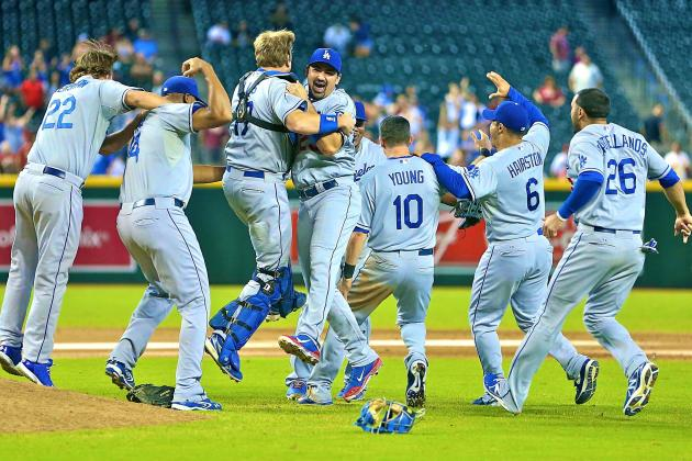 Los Angeles Dodgers Clinch National League West with 7-6 Victory over Arizona