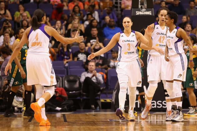 WNBA Playoffs 2013: Bracket, Schedule, TV Info and More