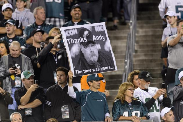 Andy Reid Gets Applause from Eagles Fans in First Game Back in Philadelphia