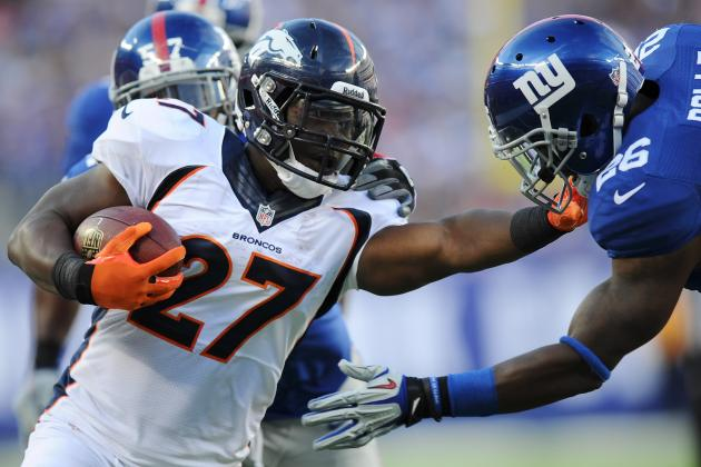 Breaking Down Knowshon Moreno's Breakout Game Against the Giants in Week 2
