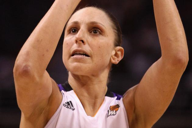 Taurasi's 30 Points Leads Mercury Past Sparks in Game 1