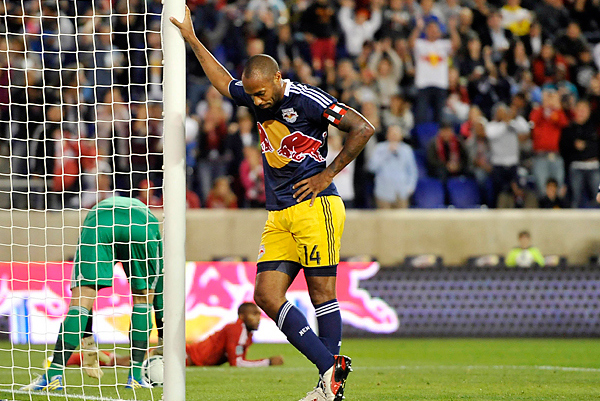#Henrying Goes Viral: Thierry Henry's Goal Celebration Gets Photoshop Treatment