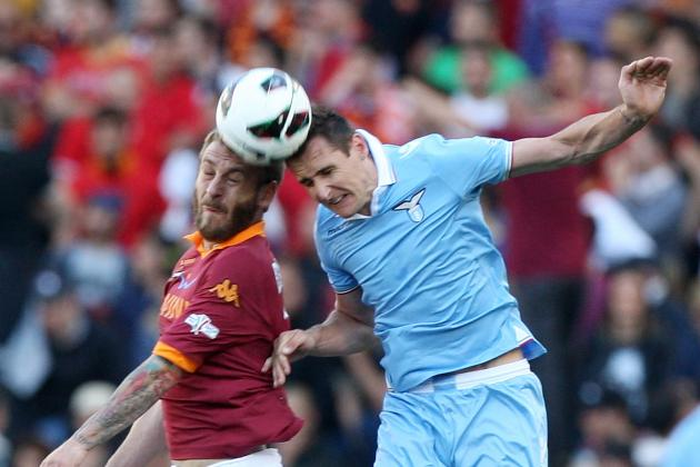 Roma vs. Lazio:  Date, Time, Live Stream, TV Info and Preview