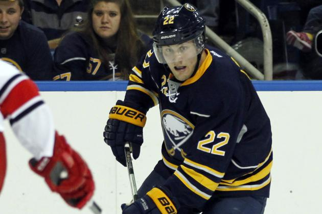 Larsson Scores Twice as Sabres Outlast Canes