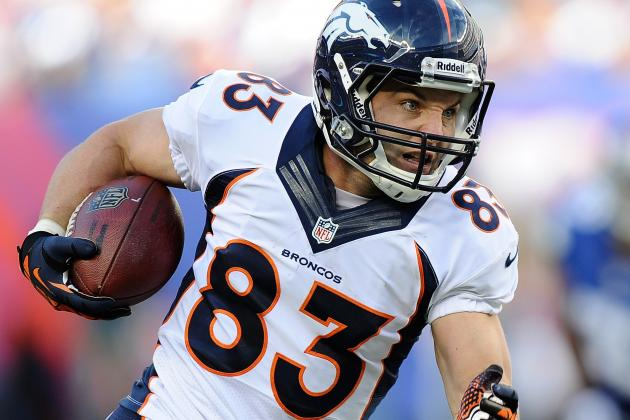 Wes Welker Named Broncos Captain to Replace Ryan Clady