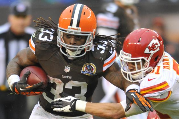 Trent Richardson's Fantasy Owners Must Be Patient Following Trade to Colts