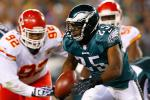 LeSean McCoy Suffered Right Ankle Sprain vs. KC