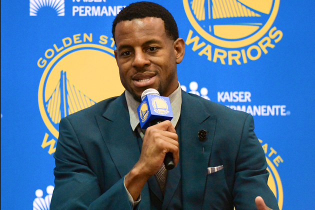 Andre Iguodala on 'Iggy' Nickname: 'I Never Liked That'