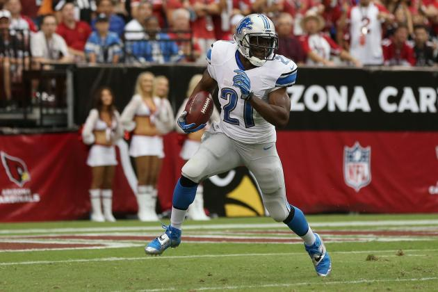 Reggie Bush Is a Must-Start in Fantasy If Detroit Lions RB Is Active Sunday