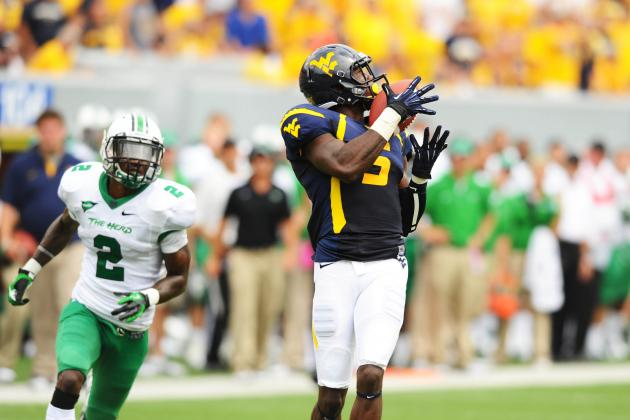 Re-Emergence of West Virginia WR Ivan McCartney a Big Boon to Mountaineers
