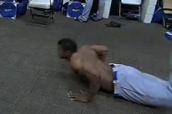 Watch: Puig Does the Worm, Weird Jig in Celebration