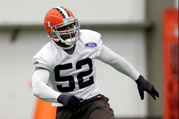 Browns LB Quentin Groves Has High Ankle Spran, out 4-6 Wks