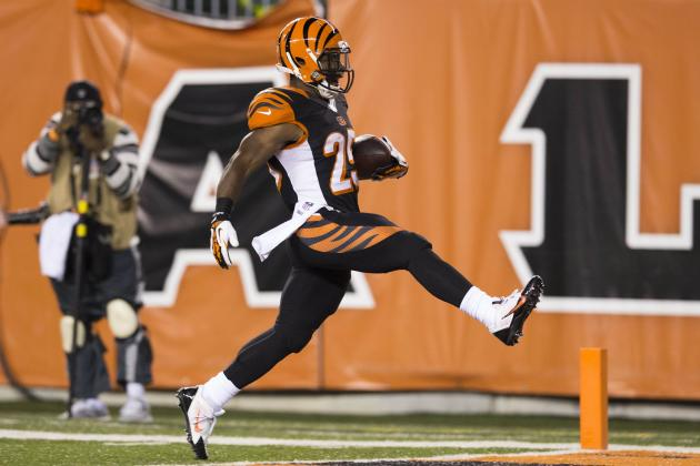 Giovani Bernard's Increased Role Is a No-Brainer for Cincinnati Bengals