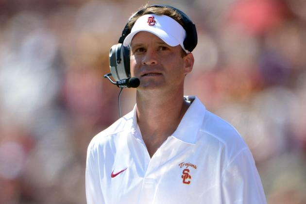 Kiffin Says USC's Extra-Point Trickery Is Still in the Arsenal