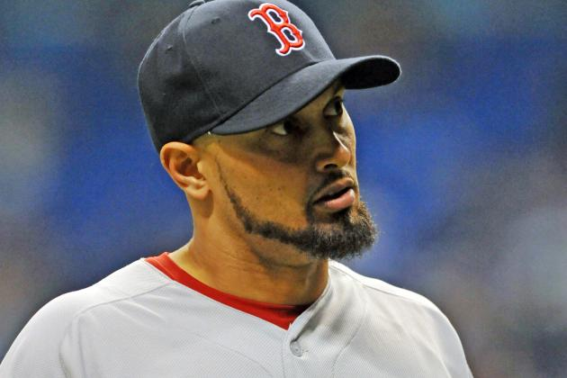 Victorino Scratched from Lineup Friday vs. Blue Jays