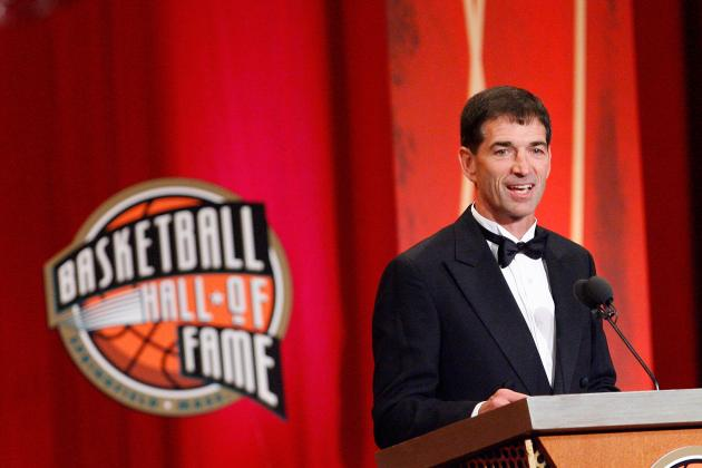 John Stockton Working with Utah Jazz Guards Alec Burks and Trey Burke