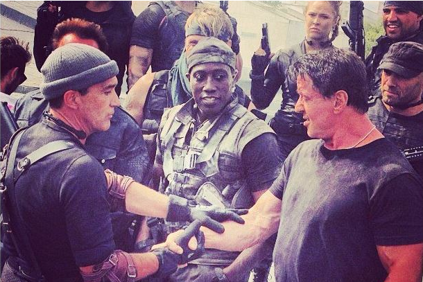 UFC News: First Photo of Ronda Rousey in 'Expendables 3' Revealed on Instagram