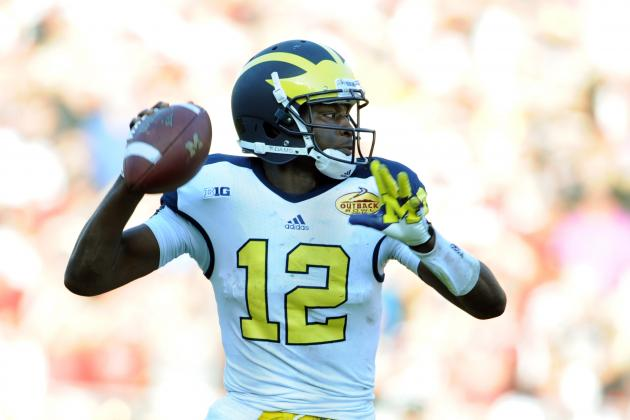OL and Devin Gardner's Decision-Making Take Center Stage