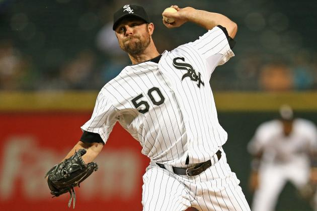Twitter / DanHayesCSN: Sounds like John Danks is shut ...