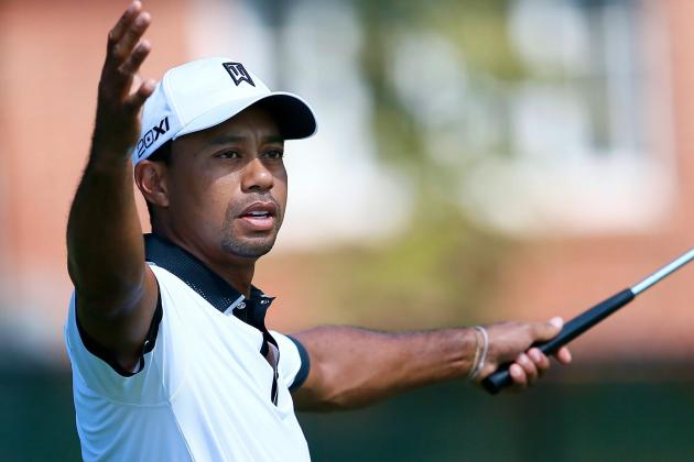 Tiger Woods at Tour Championship 2013: Day 2 Recap and Twitter Reaction