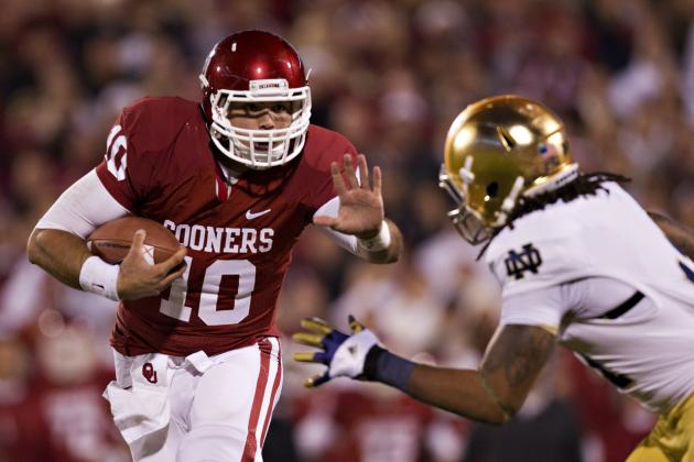 Oklahoma Looking to Settle the Score with Notre Dame