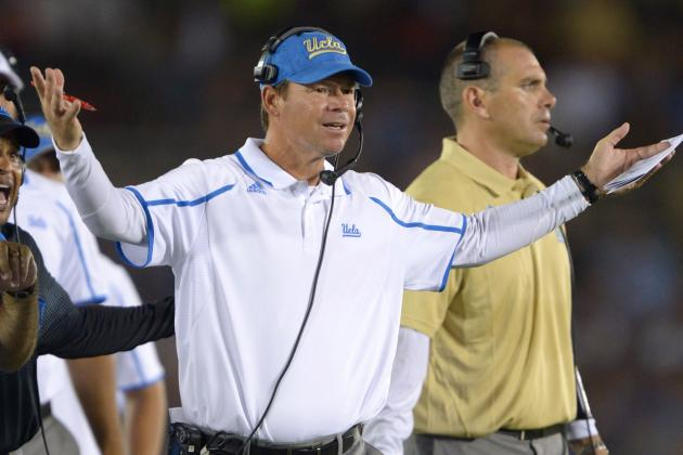 Jim Mora Responds to Shaq Evans' Comments on USC