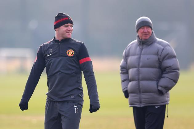 Sir Alex Ferguson Had to Offer Wayne Rooney an Olive Branch at Manchester United