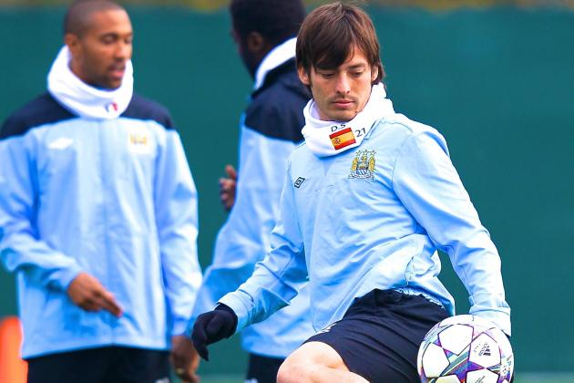 David Silva Aiming for Manchester City Return Against Bayern Munich