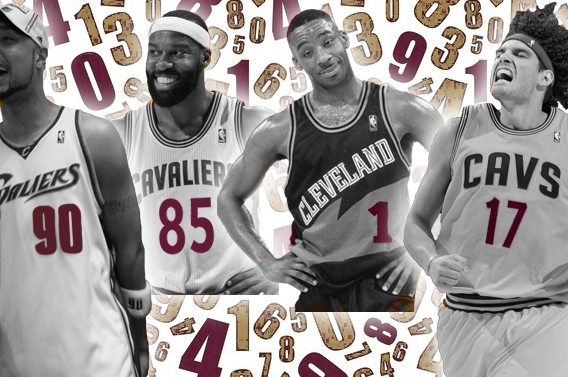 The Cava-List: All-Time Cavs, by the Numbers