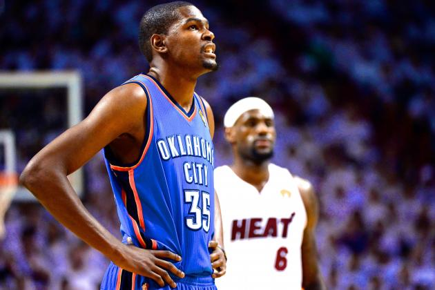 When Does Kevin Durant Start Getting the LeBron James Pressure Treatment?