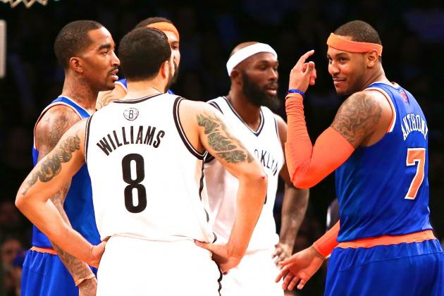 Time for New York Knicks and Brooklyn Nets to Shut Up and Let Real Games Begin