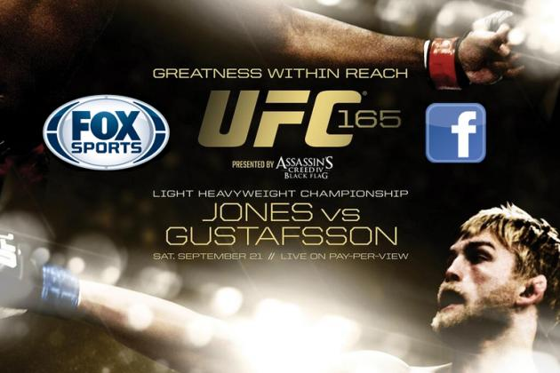 UFC 165 Start Time: When and Where to Watch Jones vs. Gustafsson
