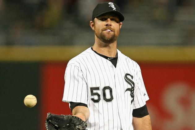 Sox Shutting Down Starter Danks