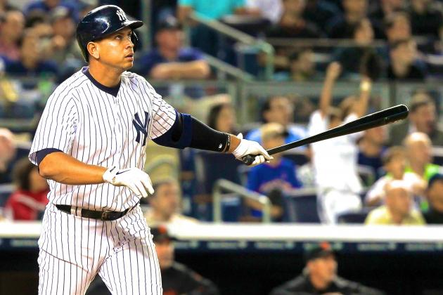 Alex Rodriguez Passes Lou Gehrig With 24th Grand Slam for All-Time MLB Record