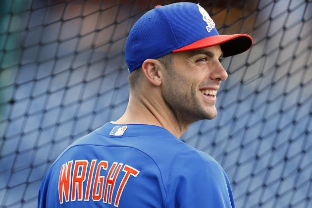 David Wright Homers in First at-Bat Back as Mets Top Phillies